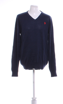 Pánský svetr U.S. Polo Assn. modré L