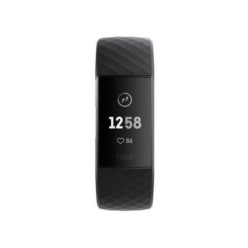Fitness náramek Fitbit Charge 3 FB409GMBK-EU