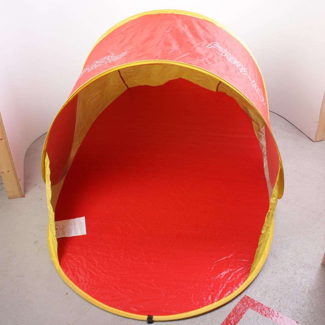 Plážový stan Spokey Nimbus červeno-žlutý