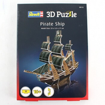 3D puzzle Revell 00115 Pirate Ship