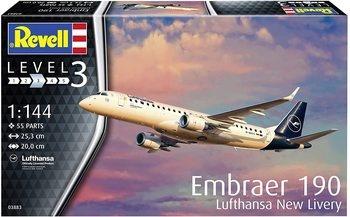 Model letadla Rewell Embraer 190 Lufthansa
