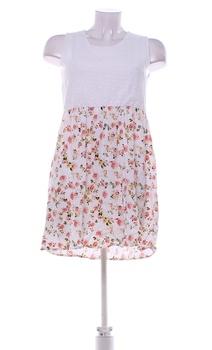 Dámské šaty MSHLL Girl bílé s barevnou sukní