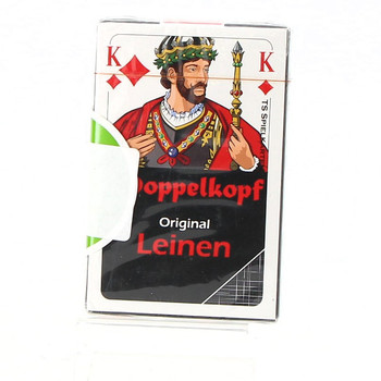 Originální lněné karty Doppelkopf