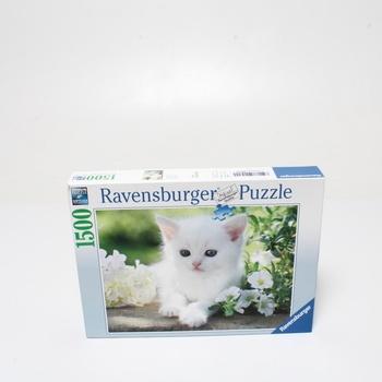 Puzzle Ravensburger 16243 Bílá kočka