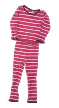 Dlouhé dívčí pyžamo Lupilu proužkované