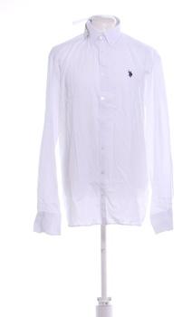 Pánská košile U.S. Polo ASSN bílá XXL