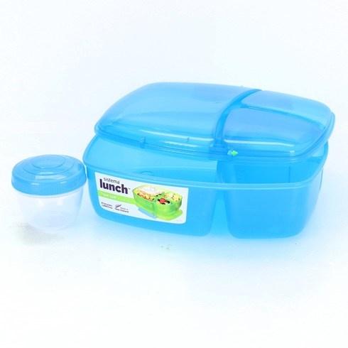 Obědový box Sistema modrý