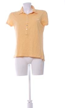 Dámské tričko Cherokee žluté s rozepínáním