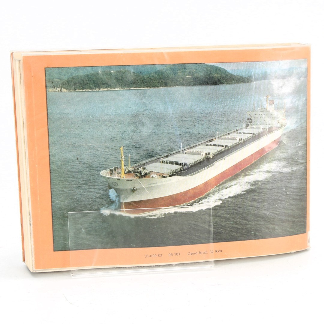 Kniha E. Škňouřil, K. Růžička: Atlas lodí
