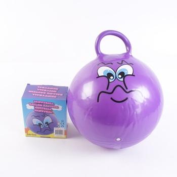 Skákací míče Eddy Toys fialový