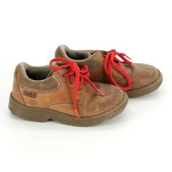 d233141022a Dětské boty Fare béžové s rudými tkaničkami