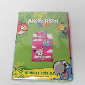 Dětské povlečení Angry Birds Rio Pink Bird