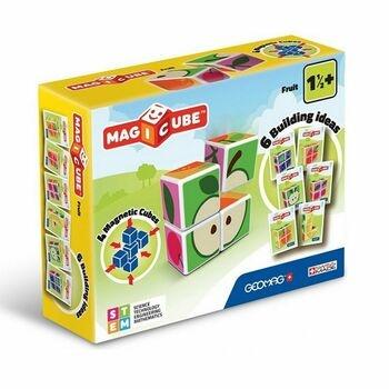 Magnetické kostky Magicube Geomag 131 ovoce