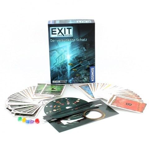 Společenská hra Kosmos Exit Potopený poklad
