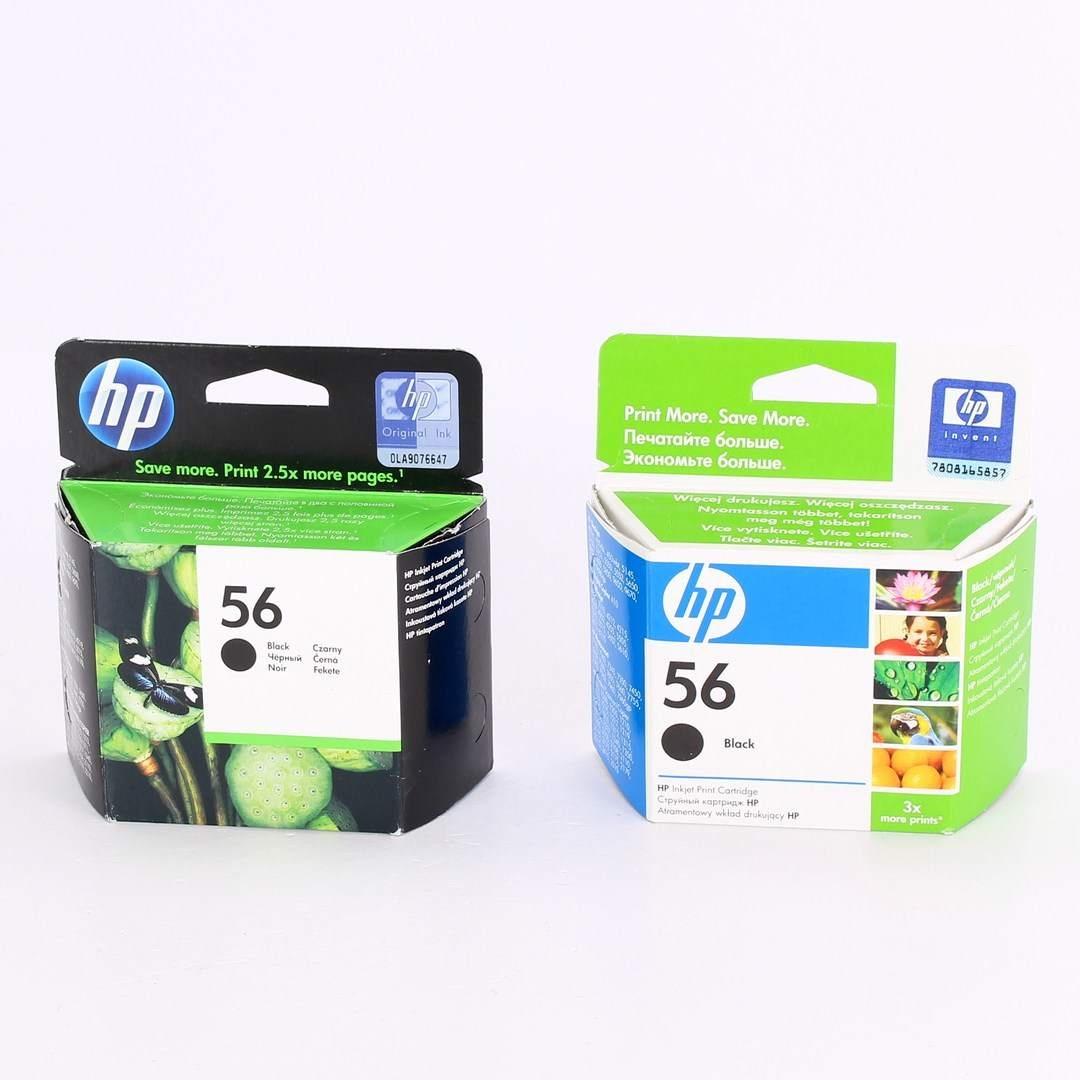 HP 56 černá - 2 ks