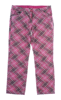 Dámské kalhoty Envy růžovo šedé