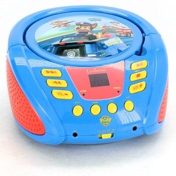CD přehrávač Lexibook Paw Patrol modrý