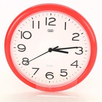 Nástěnné hodiny Trevi OM 3301 červené