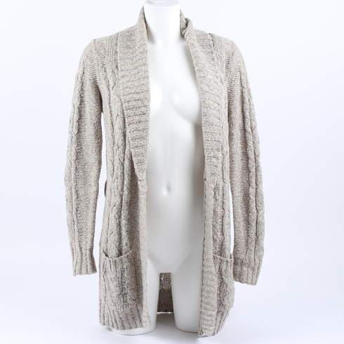 Dámský cardigan Reserved šedý - bazar  54da613756