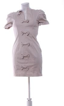 Dámské mini šaty French Connection béžové