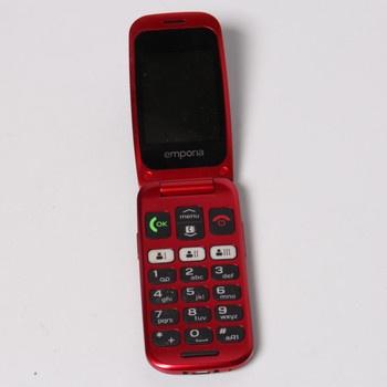 Mobil Emporia ONE V200_001 černý/červený
