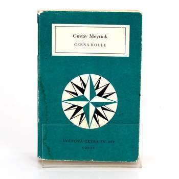 Kniha Odeon Černá koule Gustav Meyrink