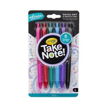 Gelová pera Crayola Take note