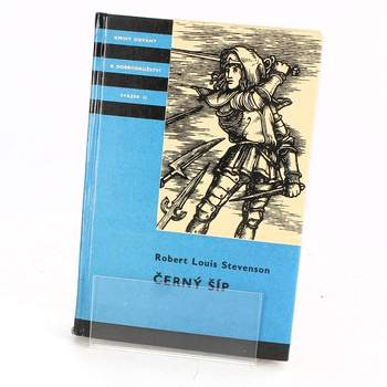 Kniha Robert Louis Stevenson: Černý šíp