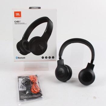 Bluetooth sluchátka JBL C45BT černá