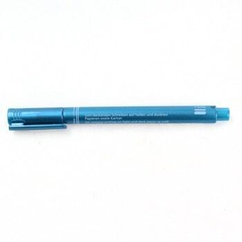 Metalický popisovač Staedtler modrý