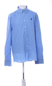 Pánská košile U.S. Polo Assn. sv. modrá XXXL