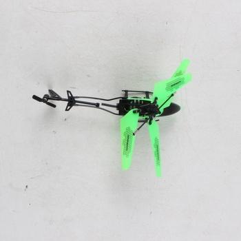 Vrtulník na ovládání Carson zelený
