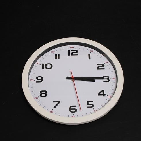 Nástěnné hodiny TFA Dostmann, bílé