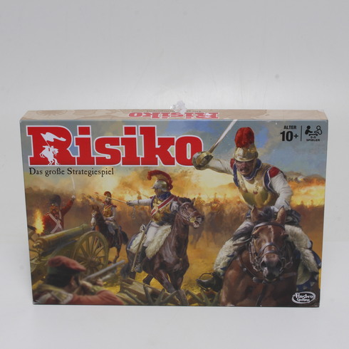 Stolní hra Hasbro Risiko B7404100 NĚM