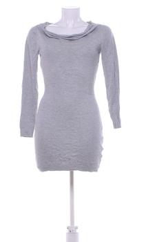 Dámské elegantní šaty Orsay šedé