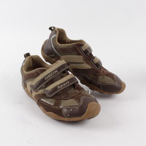 ba160422211 Dětská obuv Geox hnědé barvy - bazar