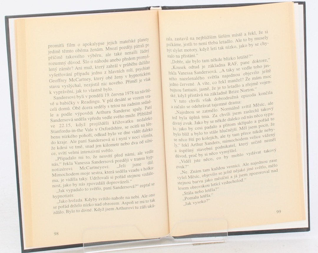 Kniha L. B. Kennedy: Nedostatečné důkazy