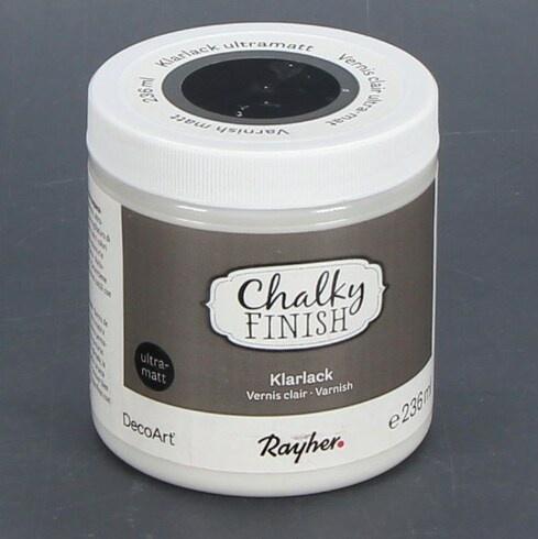 Křídový lak Rayher Chalky Finish Klarlack