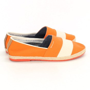 Dámské espadrilky Gant oranžové