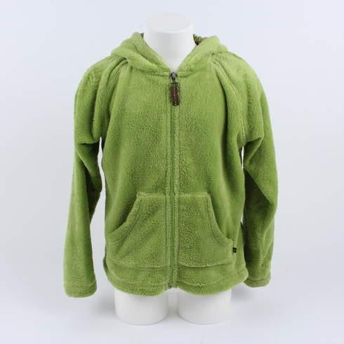 Dětská mikina Alpine Pro zelená - bazar  fae6e87cc4