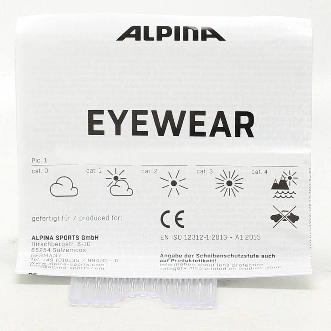 Náhradní sklíčka Alpina Eyewear