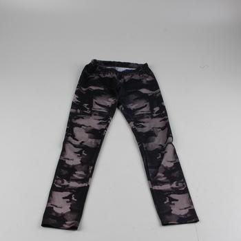 Dětské kalhoty B.style maskáčový vzor