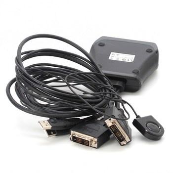 Adaptér DVI na VGA Aten USB DVI KVM Switch