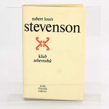 Kniha R. Stevenson: Klub sebevrahů