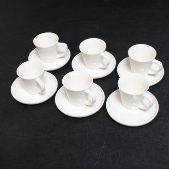 Espresso set Cosumy 6 hrnků s podšálky
