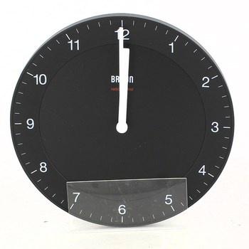 Nástěnné hodiny Braun BNC006BKBK černé