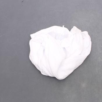 Punčochy neprůhledné Smiffys bílé