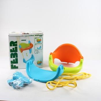 Dětská houpačka Feber plastová
