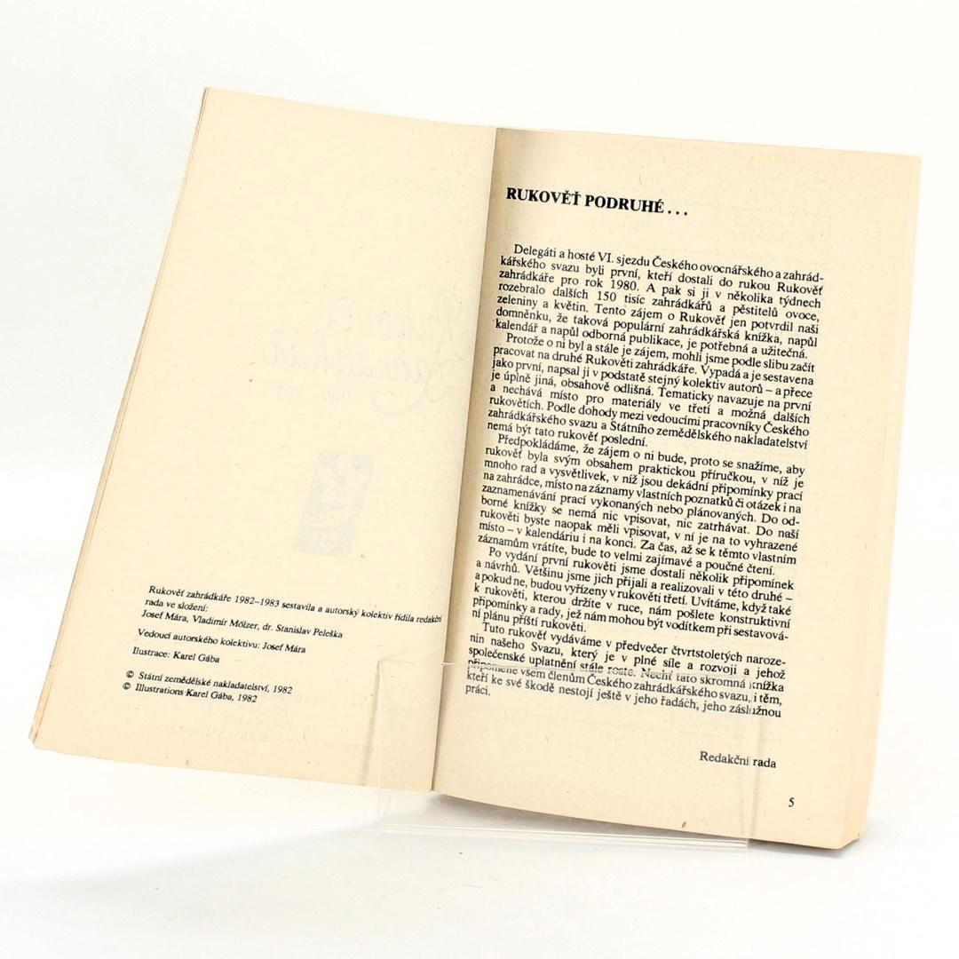 Rukověť zahrádkáře 1982-1983