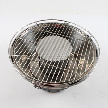 Přenosný gril na dřevěné uhlí BBQTime 86558